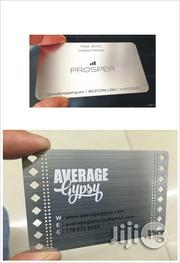 Get A Professional Image For Your Business Using A Metal Business Card | Stationery for sale in Lagos State, Ikeja