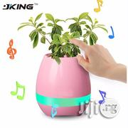 Rechargeable Smart Flower Pot With Mp3 &Bluetooth Function - Pink | Garden for sale in Lagos State, Ikeja