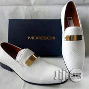 Men High Quality Italian MORESCHI White Shoe | Shoes for sale in Lagos State, Ikeja