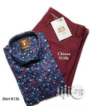 Turkey Chinos and Shirt - MATADOR | Clothing for sale in Lagos State, Lagos Island