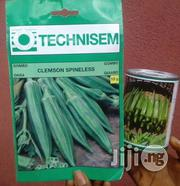 Lima F1 And Clemson Spineless Hybrid Okro Seeds For Sale | Feeds, Supplements & Seeds for sale in Delta State, Warri