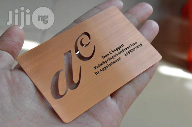 Latest Metal Business Card