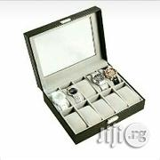 10 Slot Leather Watch Box | Watches for sale in Lagos State, Kosofe