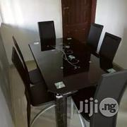 Imported Thick Glass Dinning Table | Furniture for sale in Lagos State, Surulere