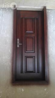 Wooden Frame And Door | Doors for sale in Oyo State, Ibadan
