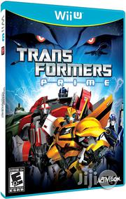 Transformers Prime-wii U | Video Games for sale in Lagos State