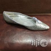 Silver Sparkle Glitter Ballerina Shoes | Shoes for sale in Lagos State