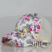 Women Wimx White Flora Baseball Cap | Clothing Accessories for sale in Lagos State, Lekki Phase 2