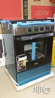Brand New Original Midea 4burner All Gas Cooker With 1year Warranty   Kitchen Appliances for sale in Lagos State, Ojo