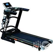 3 HP Treadmill With Large Screen, Massager, Twister, Dumbbells Incline | Massagers for sale in Lagos State, Surulere