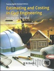 Estimating And Costing In Civil Engineering, Theory And Practice   Books & Games for sale in Lagos State, Ikeja