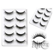 3D Eyelashes - 5 Pairs | Makeup for sale in Lagos State, Shomolu