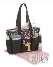 Gerber Fashion Tote Diaper Bag-giraffe | Baby & Child Care for sale in Lagos State, Ikeja