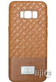 Galaxy S8 Plus Santa Barbara Polo Racquet Club Chevron Brown Cover | Accessories for Mobile Phones & Tablets for sale in Lagos State, Ikeja