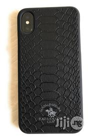Santa Barbara Polo Racquet Club Knight Back Case for iPhone X | Accessories for Mobile Phones & Tablets for sale in Lagos State, Ikeja
