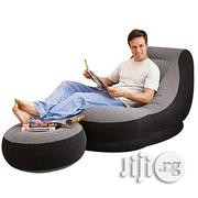 Inflatable Chair With Footrest And Pump Inclusive | Furniture for sale in Lagos State, Lagos Island