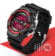 Sanda Sports Digital Luminous Watch -Redface | Watches for sale in Lagos State, Agege