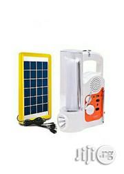 Brand New Lontor Rechargeable Lamp And Radio Plus Free Solar Panel | Solar Energy for sale in Lagos State, Alimosho
