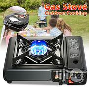 Portable Camping And Outdoor Gas Cooker With Free Gas Filled Cartridge | Camping Gear for sale in Lagos State, Lagos Island
