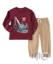 Kids Headquarters Long-Sleeve Tee Joggers | Children's Clothing for sale in Lagos State, Surulere