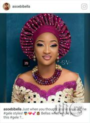 Design Auto Gele   Clothing for sale in Lagos State, Ojodu
