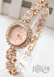 King Girl Women's Classic Studded Wrist Watch - Rose Gold   Watches for sale in Lagos State, Agege