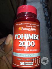 Puritans Pride Yohimbe 2000mg for Men - | Vitamins & Supplements for sale in Lagos State, Surulere