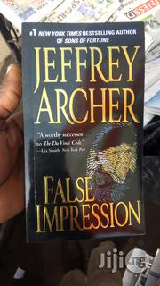 False Impression By Jeffry Archer   Books & Games for sale in Lagos State, Yaba