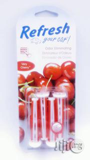 Refresh Your Car Auto Vent Clip Air Freshener, Very Cherry, 4 Sticks | Home Accessories for sale in Lagos State, Amuwo-Odofin
