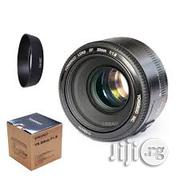Brand New Yongnuo Prime Lens Yn 50mm 1.8 for Nikon Cameras | Accessories & Supplies for Electronics for sale in Lagos State, Lagos Island