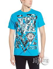 Southpole Men's High Definition Foil Print T-Shirt- Ocean Blue   Clothing for sale in Lagos State