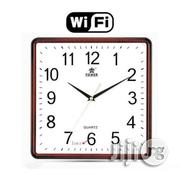 Universal WIFI Wireless P2P Wall Clock Camera With Motion Detection | Home Accessories for sale in Lagos State, Ikeja