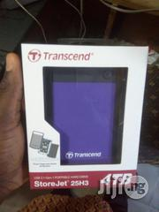 Transcend 4TB Storejet 25H3 2.5inch Usb 3.0 Portable Hard Drive | Computer Hardware for sale in Lagos State, Ikeja