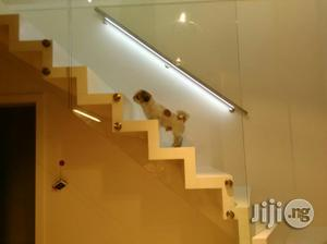 Glass Staircase And Balcony