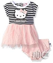 Hello Kitty Baby Girls' 2 Piece Tutu Dress- Pink/Multi | Children's Clothing for sale in Lagos State