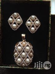 Pearl Mix Gold Earring and Pendant | Jewelry for sale in Lagos State, Lekki Phase 2
