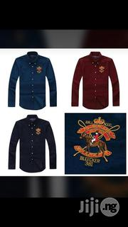 Polo Ralph Lauren Corduroy Shirt | Clothing for sale in Lagos State, Surulere