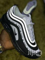 Nike Airmax 97 Kappa Black & White Sneakers   Shoes for sale in Lagos State, Lagos Island