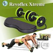 Revoflex Xtreme / Home Gym / Abs Machine / Resistance Band / Workout / Training / Muscles / Exercise Slimming Device | Sports Equipment for sale in Lagos State, Lagos Island