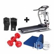 2HP Fitness Treadmill With Massager + Free 1kg Dumbbells,Gym Gloves Yoga Mat | Massagers for sale in Lagos State, Isolo