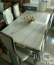 Marble Dining Table Six Seaters.   Furniture for sale in Ondo State, Ilaje