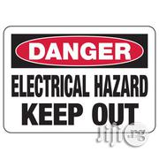 Site Safety Signs DANGER HAZARD SIGNAGE | Safety Equipment for sale in Lagos State, Agboyi/Ketu