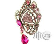 Full Rhinestone Cute Butterfly Brooches | Jewelry for sale in Lagos State, Surulere