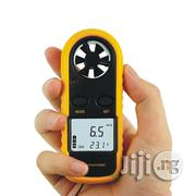 Digital Anemometer LCD Air Wind Speed Gauge Anemometer Thermometer 0-30m/S | Measuring & Layout Tools for sale in Lagos State, Ifako-Ijaiye