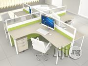 4-seater Office Workstation Cubicle | Furniture for sale in Lagos State, Shomolu