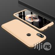 Xiaomi Redmi Note 5 Pro 360 Degree Protective Back Case (Gold)   Accessories for Mobile Phones & Tablets for sale in Lagos State, Ikeja