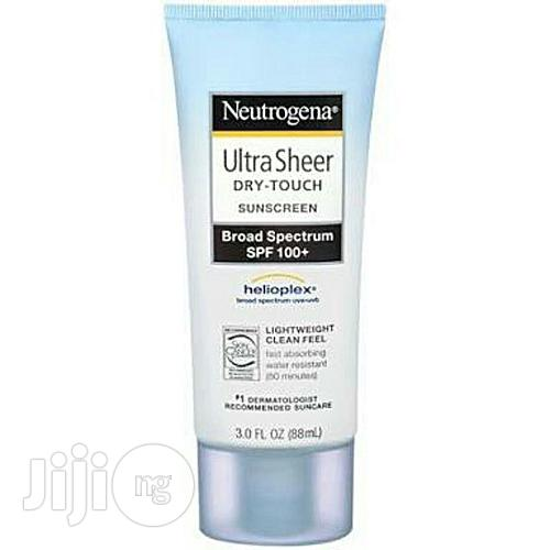 Neutrogena SPF 100+ Ultra Sheer Dry-Touch Sunscreen With Bonus Lip Balm 88ml