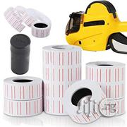 10 Rolls Price Tags Labels Paper Stickers With Ink | Stationery for sale in Lagos State, Ikeja