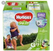 Huggies Little Movers Slip on Diaper Pant Size 4 (74ct) | Baby & Child Care for sale in Lagos State, Ikeja