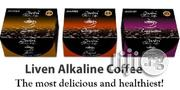 Liven Alkaline Coffee: Original Latte Cappucino and Sugar Free Flavo | Sexual Wellness for sale in Lagos State, Ikeja